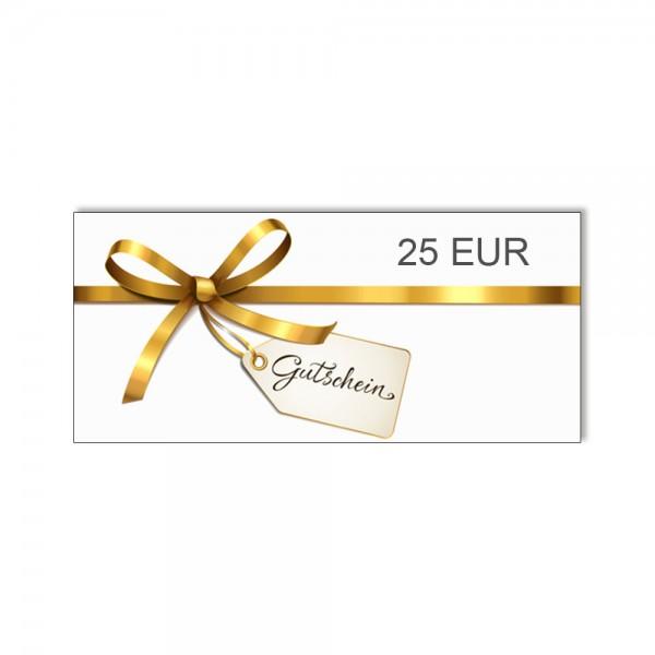 Gutschein über 25 EUR