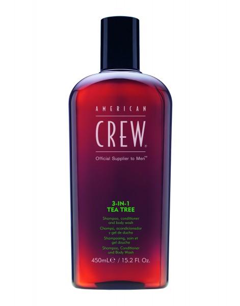 CREW 3IN1 TEA TREE 450ml